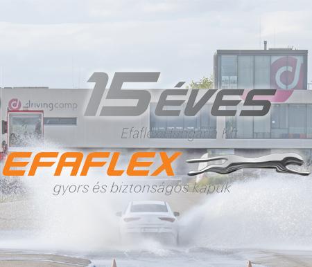 Az EFAFLEX Hungária Kft. alapításának 15. jubileumát ünnepelte