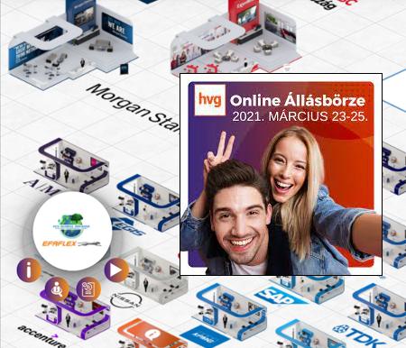 HVG Online Állásbörze 2021. március 23-25.