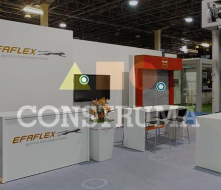 A Construma 2019 kiállításon az EFAFLEX Hungária Kft